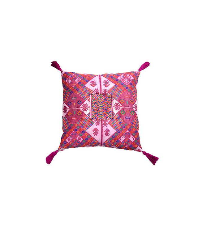 Furbish El Palmar Embroidered Pillow