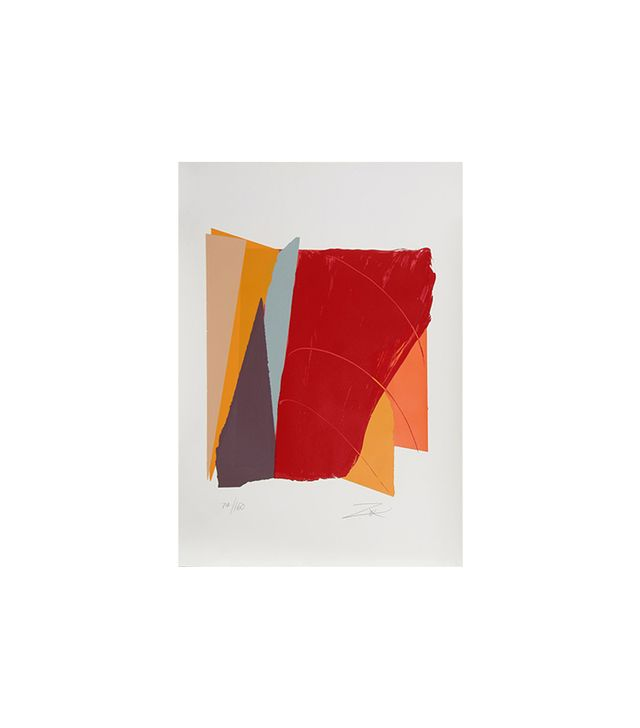 RO Gallery Red Line 1 by Larry Zox