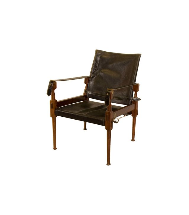 1st Dibs Rosewood Safari Chair by Carl Auböck