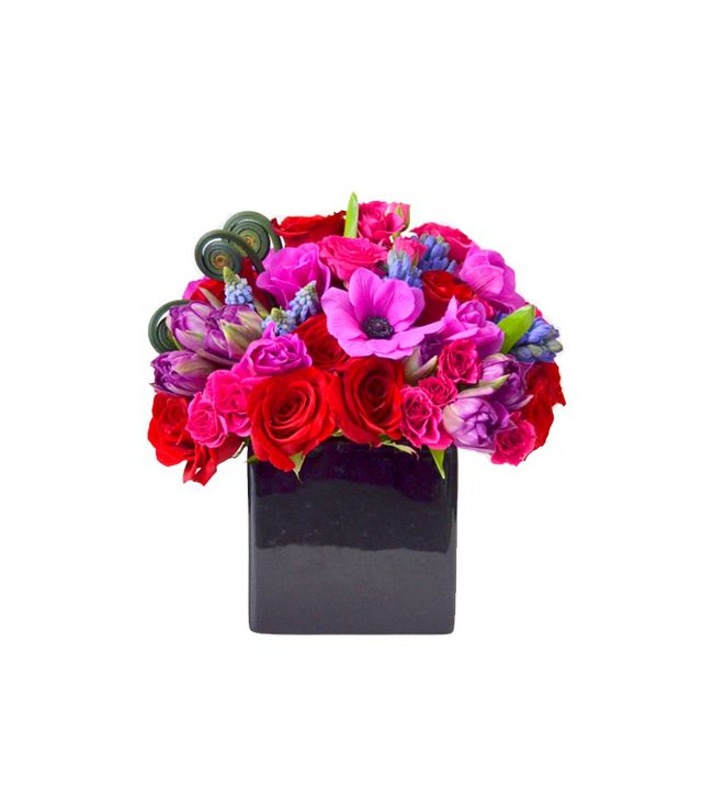 Gabriela Wakeham Red, Purple, and Pink Arrangement