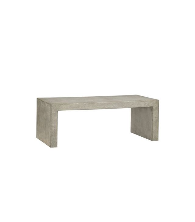 Crate and Barrel Mason Coffee Table