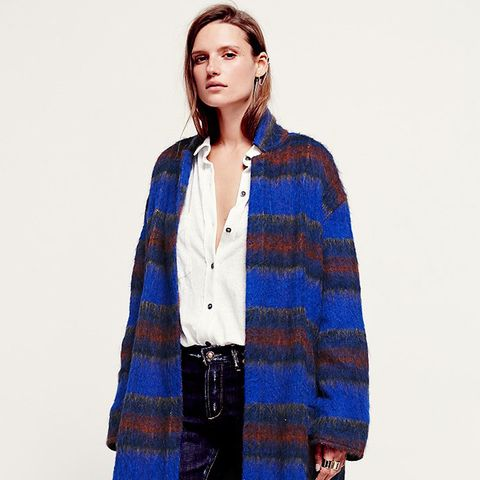 Long And Lean Wool Overcoat