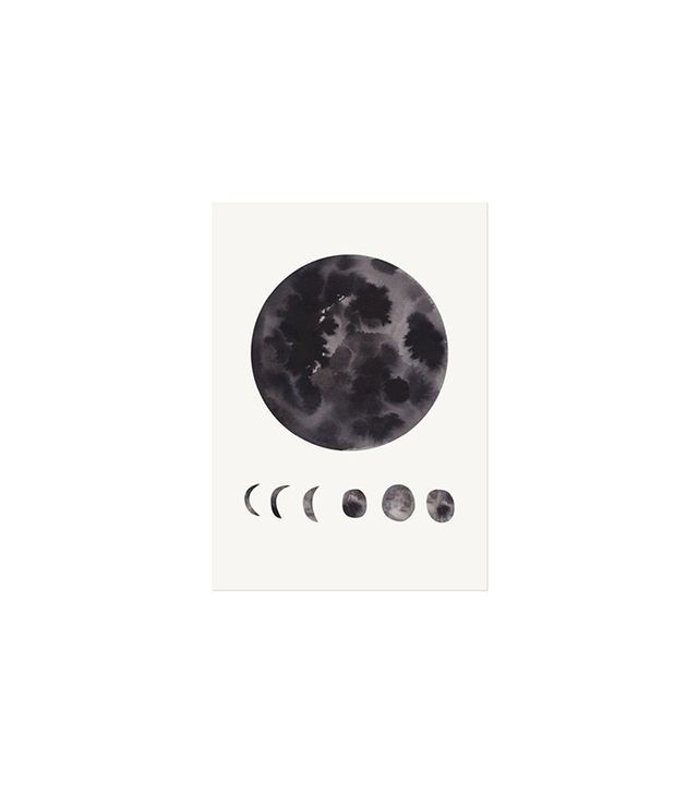 The Adventures Of Phases of the Moon Art Print