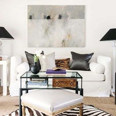 Tour a Designer's Own Glam, Ladylike Abode