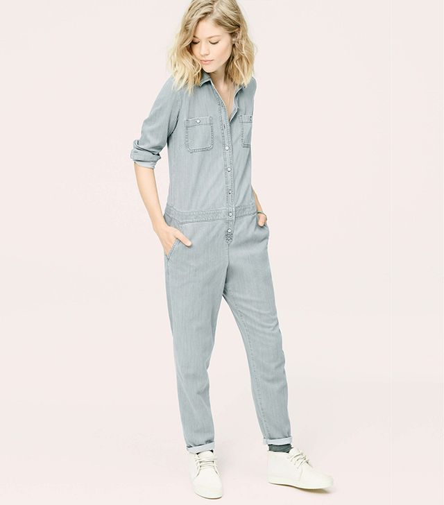 Lou & Grey Chambray Jumpsuit