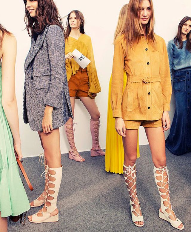 Would You Wear It? Chloé's Knee-High Gladiators