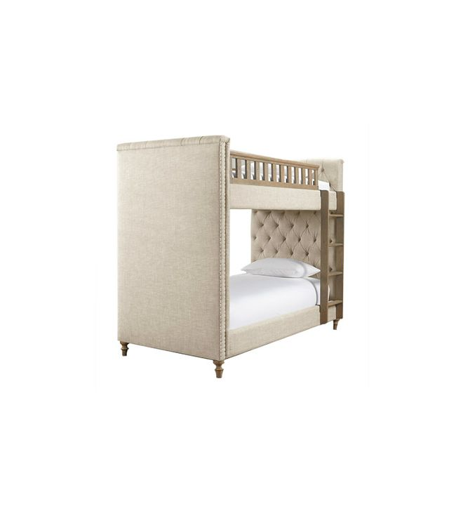 Restoration Hardware Chesterfield Upholstered Bunk Bed