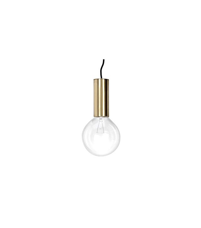 No Early Birds Neb Brass Pendant Lamp