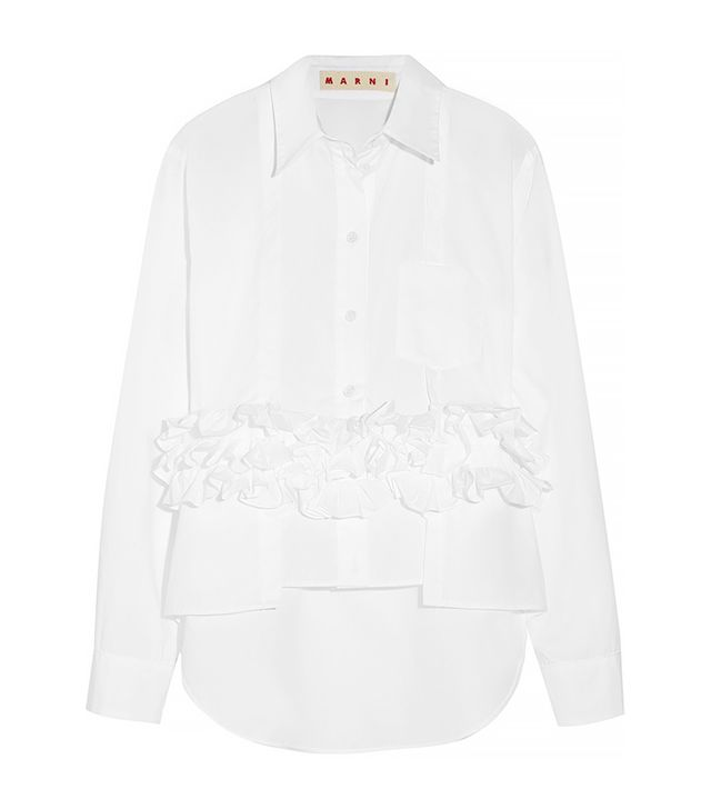 Marni Ruffled Shirt