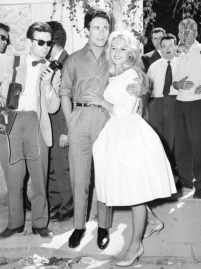 You Ll Never Believe What Brigitte Bardot Wore To Her Wedding Who Wear