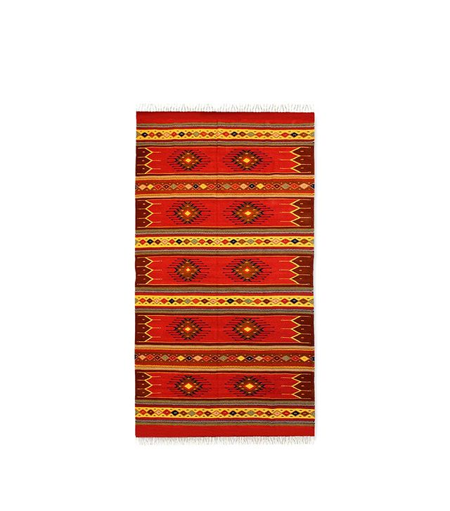 Novica Phases of the Sky Zapotec Wool Rug