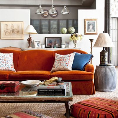 15 Colourful Reasons to Break From the Neutral Sofa