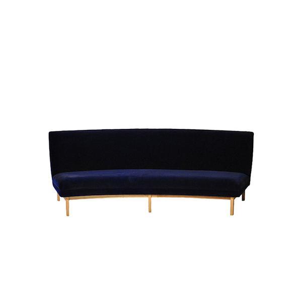 1st Dibs Semicircular Sofa