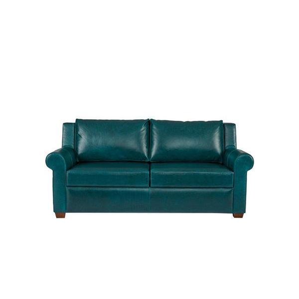 "onekingslane.com Ultra 72"" Sleeper Sofa, Teal"