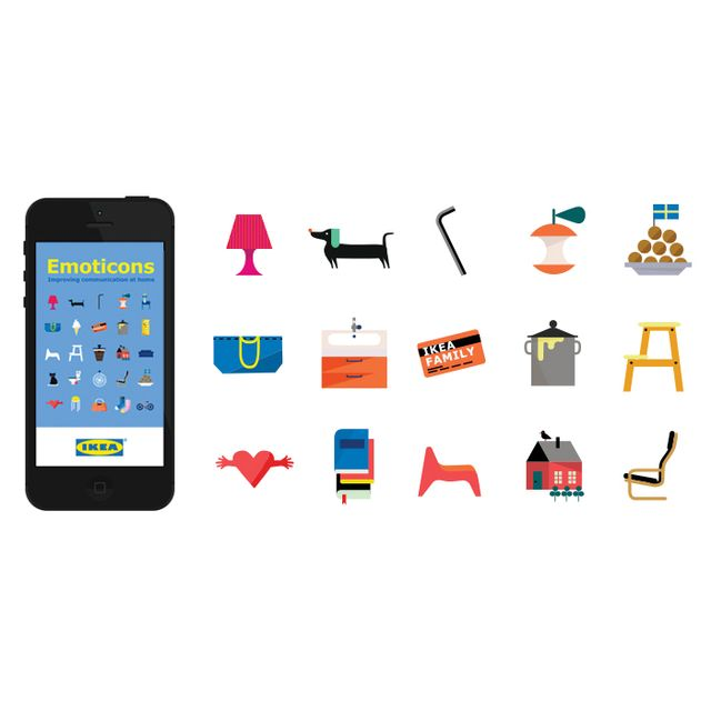 Stop Everything: IKEA Just Dropped a Batch of Emoji