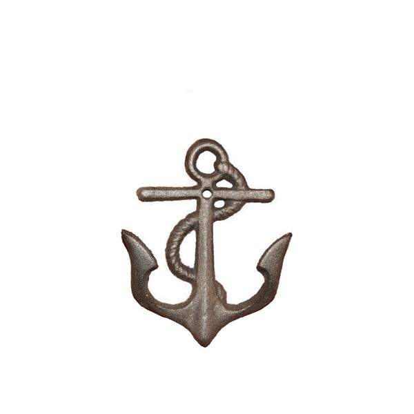 We Peddle Metal Cast-Iron Anchor Wall Hooks