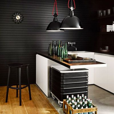 Shop the Room: A Moody-Cool Industrial Kitchen