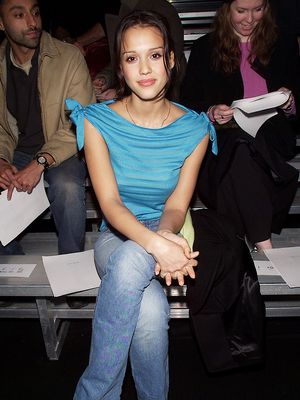 From Jessica Alba to Blake Lively, 15 Glorious Old Fashion Week Photos