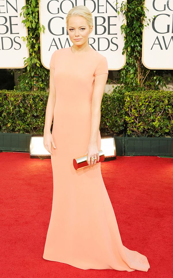 That time she was dreamy and chic in a form-fitting minimalist gown: