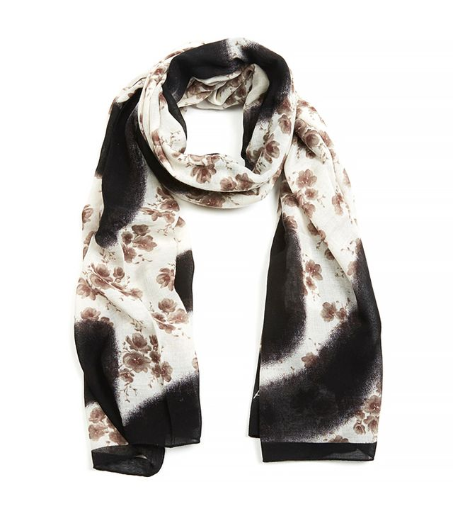 Marc Jacobs Defaced Floral Scarf