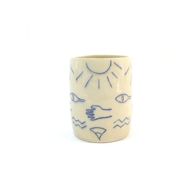 Small Spells Hieroglyphs Cup