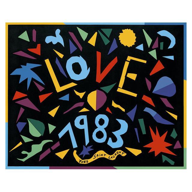We're Crushing On Yves Saint Laurent's Vintage Love Cards