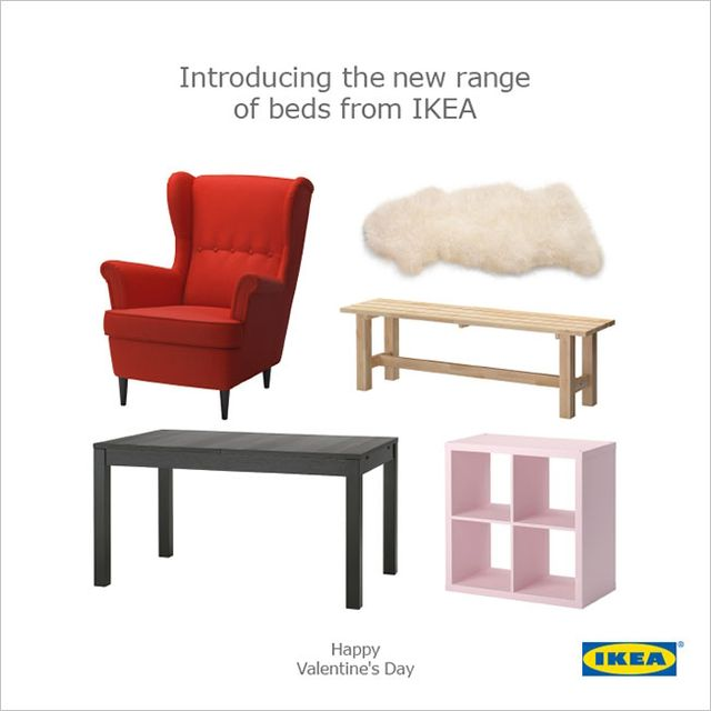 IKEA's New Valentine's Day Ad is Very Cheeky