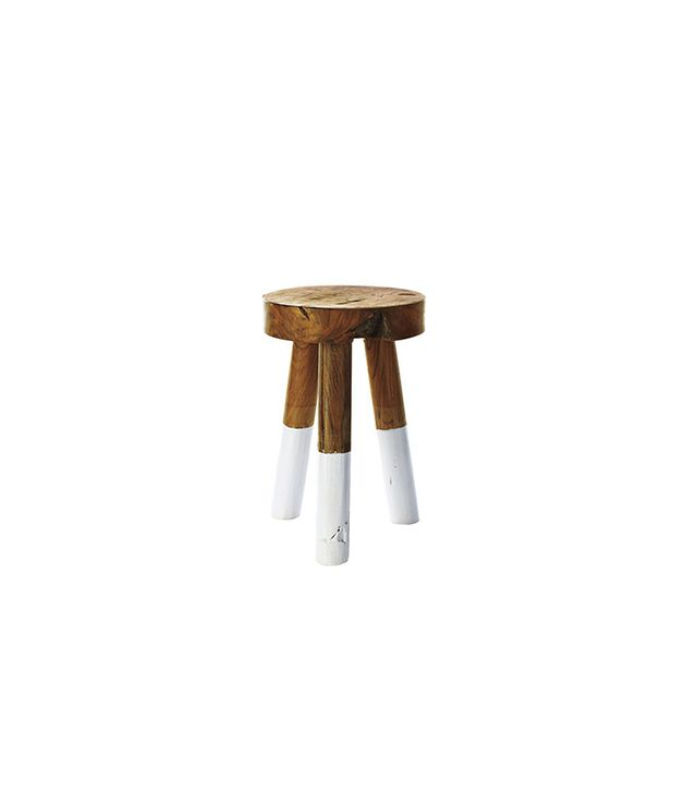 Serena & Lily Dip Dyed Stool
