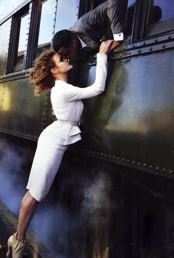 Natalia Vodianova for Vogue October 2014