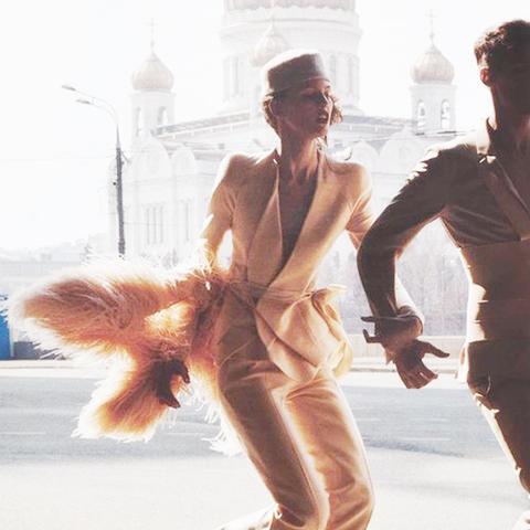 Al Stephens and Valentin Savchenko for V Magazine August 2009
