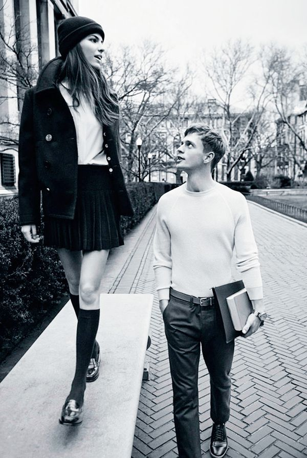 Cameron Russell for Man About Town Spring 2013
