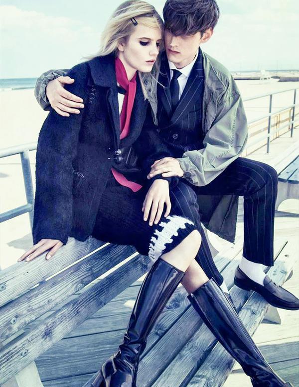 Anmori Botha for Vogue Russia September 2014