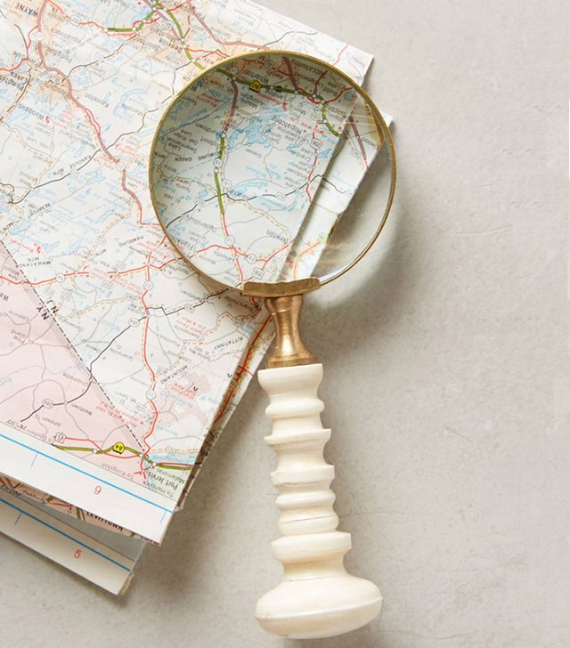 Anthropologie Sculpted Curves Magnifying Glass