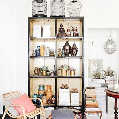 Shop the Room: A Well-Travelled Reading Corner