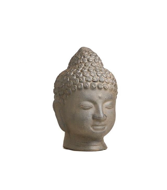 World Market Terracotta Buddha Head