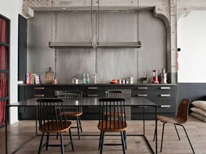 Tour an Industrial French Apartment Filled With Character