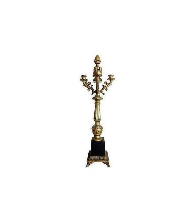 Chairish Antique Acorn Candelabra