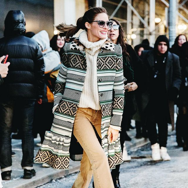 Olivia Palermo Shows Us How to Wear the Statement Coat
