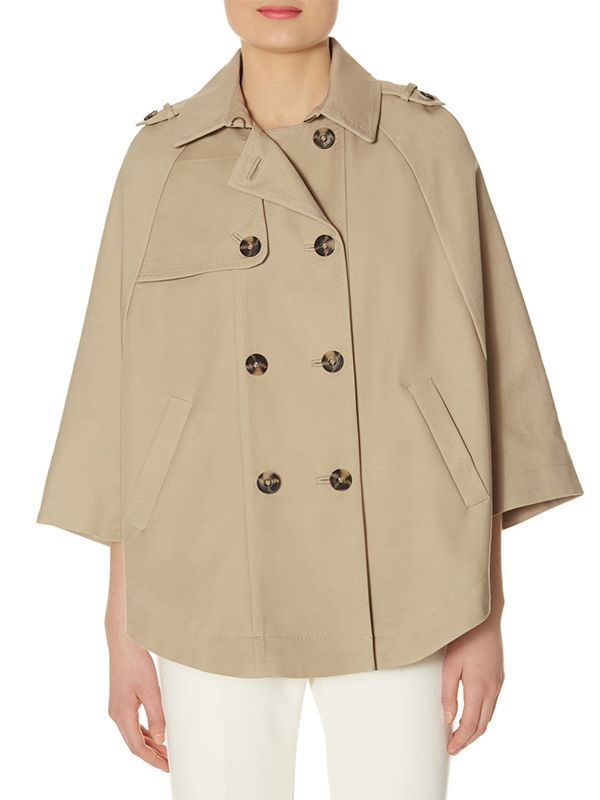 The Limited Scandal Collection Trench Cape