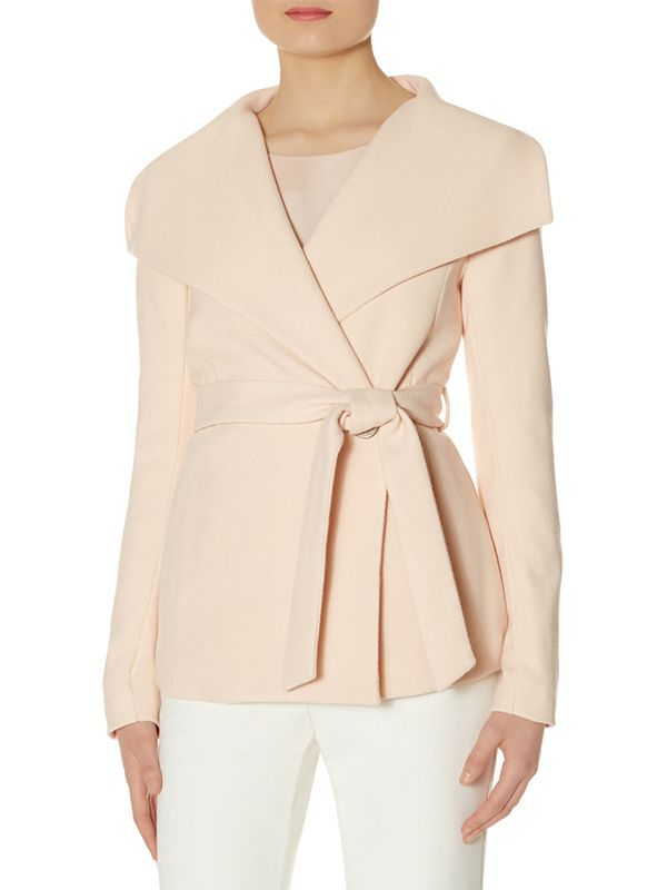 The Limited Scandal Collection Shawl Collar Coat