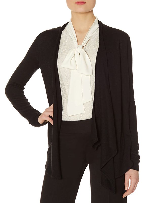 The Limited Scandal Collection Epaulet Cardigan
