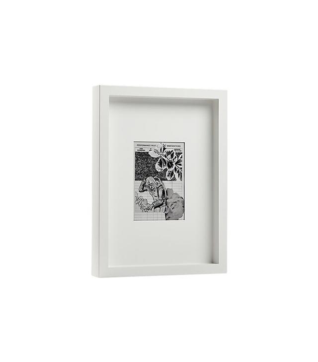 CB2 White Matte 5x7 Picture Frame