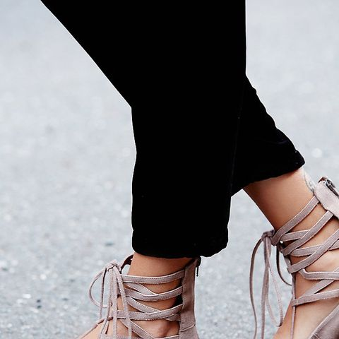 Shay Lace Up Flats