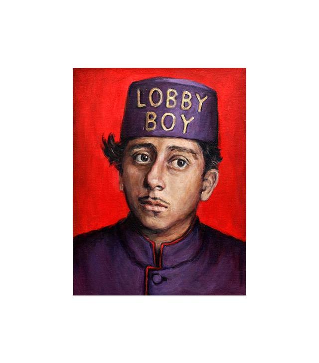 Heather Buchanan Lobby Boy / Grand Budapest Hotel / Wes Anderson