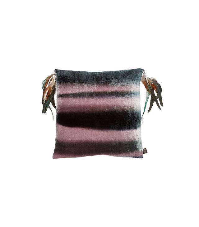 Aviva Stanoff Aviva Stanoff Feather Velvet Pillow
