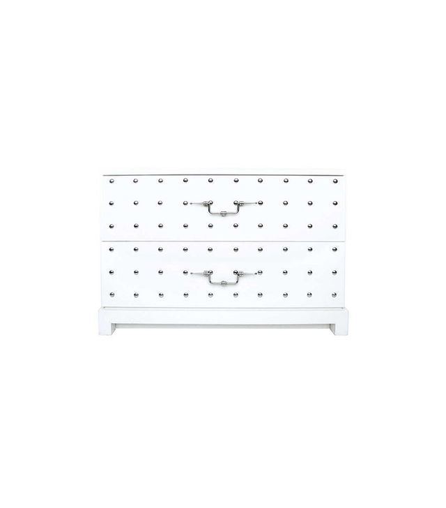 Tommi Parzinger Tommi Parzinger Studded Two Drawer Chest