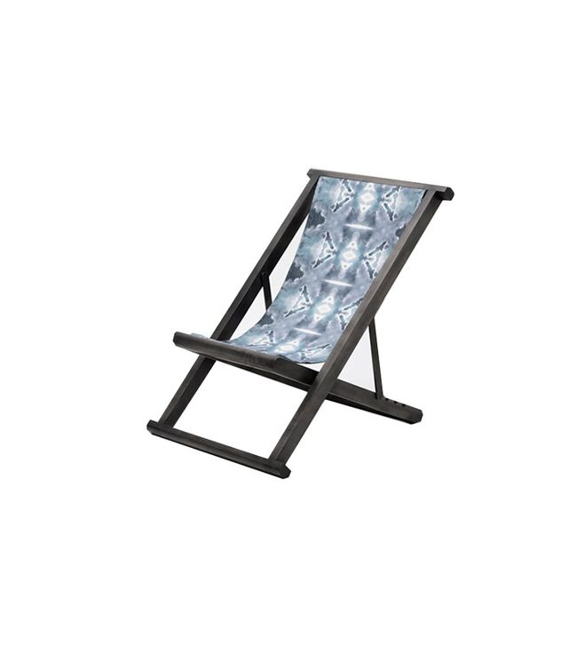 Eskayal Starless-Black Maple Sling Chair