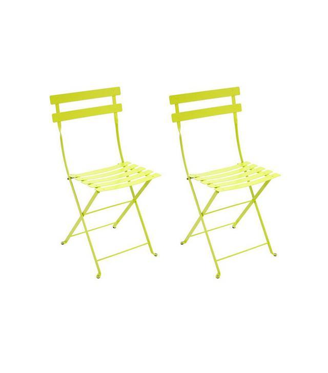 Fermob Verbena Bistro Metal Chairs (Set of 2)