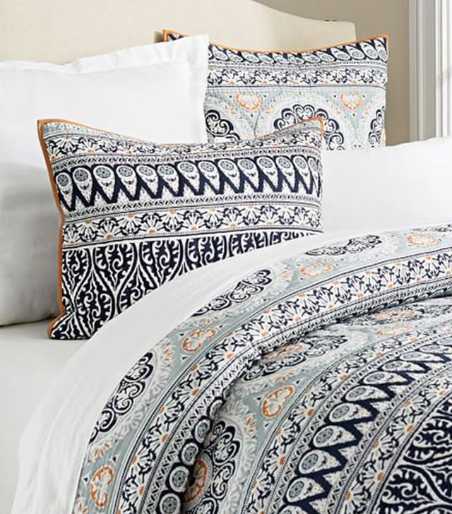 Pottery Barn Pia Medallion Quilt