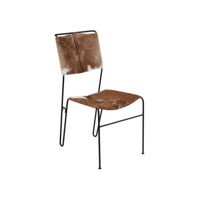 Zinc Door Hairon Tuft Side Chair